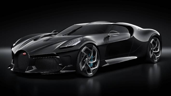 Bugatti La Voiture Noire one-off revealed at the 2019 Geneva Motor Show