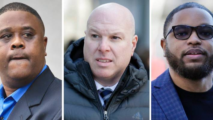 Trio gets prison in college basketball recruiting scandal