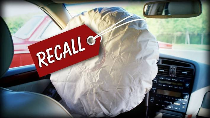 Honda to recall around 1million vehicles with unsafe air bags