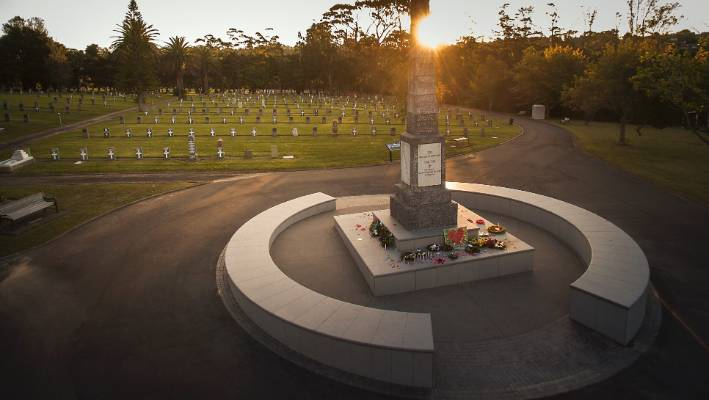 Waikumete Cemetery is the biggest in New Zealand, covering 107 hectares of land.