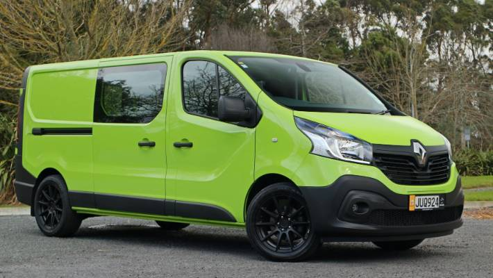Renault Trafic has a lot of work to do: boost brand's sales in NZ, but also provide base for new Mitsubishi van.