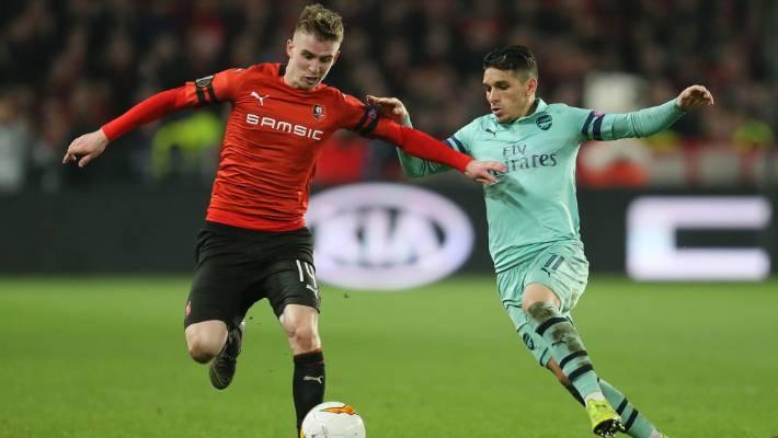 Europa League 10 Man Arsenal Slump To Heavy Loss As Chelsea Earn