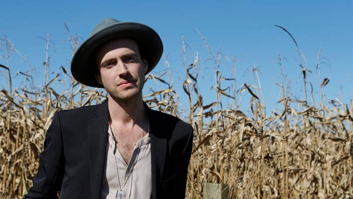 Finn Andrews new album One Piece at a Time is his first solo effort outside of his band The Veils. (Andrews wears Zambesi and is styled by Karen Inderbitzen-Waller.)