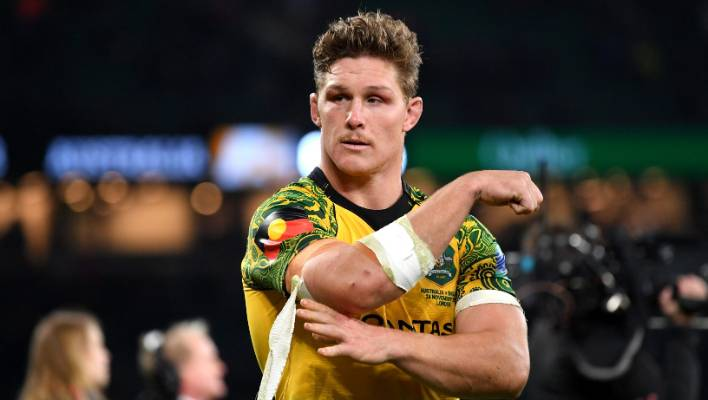 4cc6f3d4d97 Wallabies captain Michael Hooper says his sides have given their all.