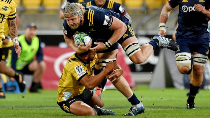 Highlanders lock Josh Dickson says they can 'dominate' the Crusaders pack |  Stuff.co.nz