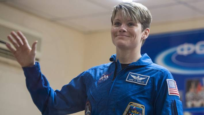Anne Mc Clain will make history as part of the first all-female spacewalk on the International Space Station at the end of March