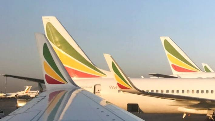 c2963d80407c An Ethiopian Airlines Boeing 737 Max 8 jetliner carrying 157 people crashed  shortly after takeoff from