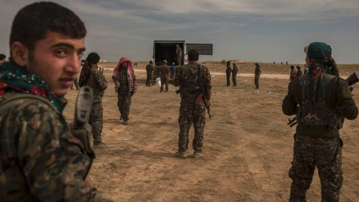Baghouz offensive: final push begins with a firefight