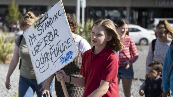 Student Led Global Climate Change Protests