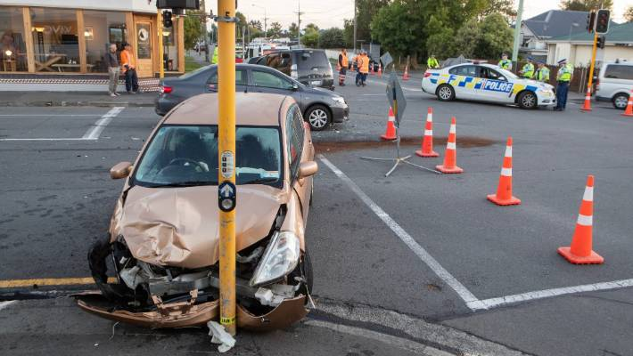 Charges after crash in suburban Christchurch
