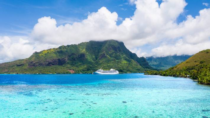 Our cruise visited Moorea as part of the two-week itinerary.