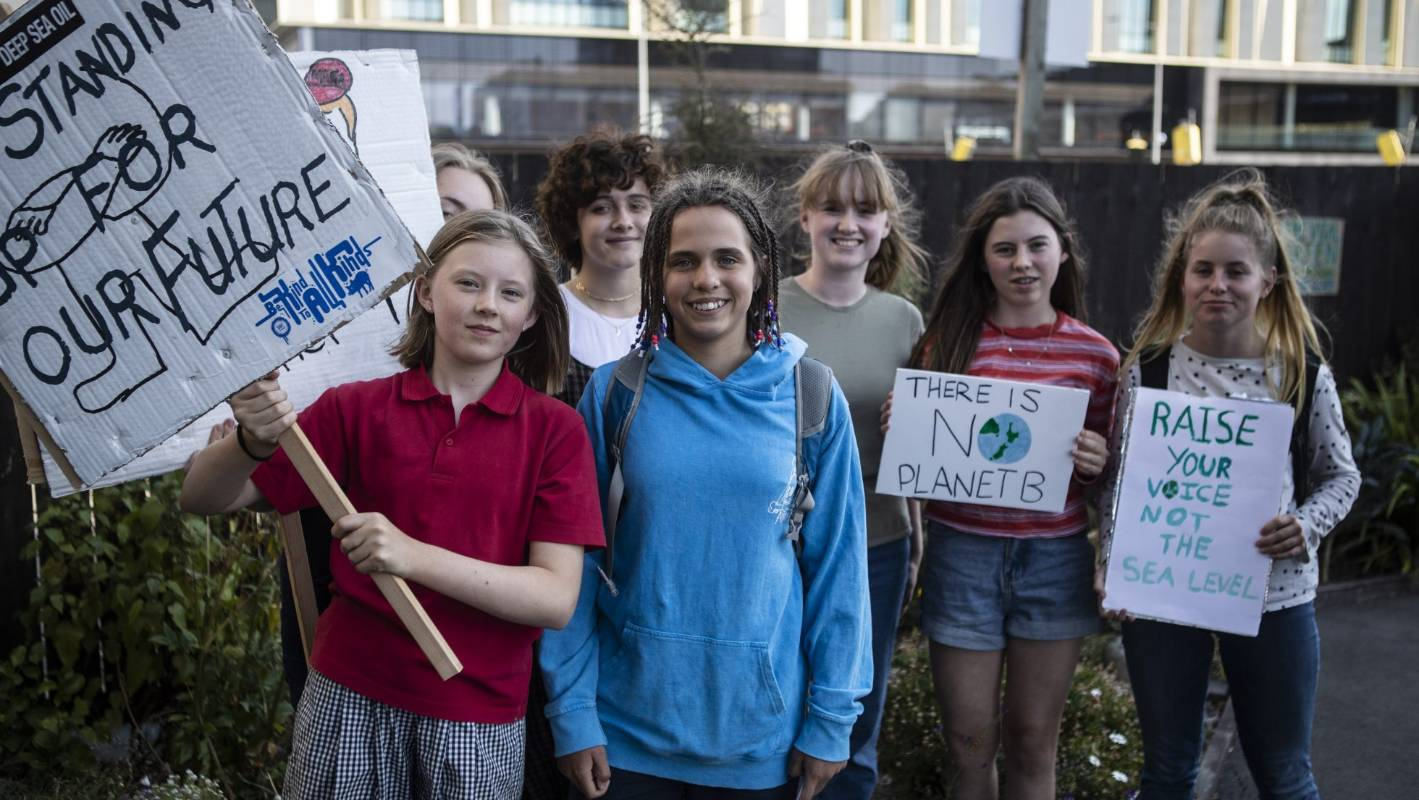 Supporting our young people as they take action over climate change