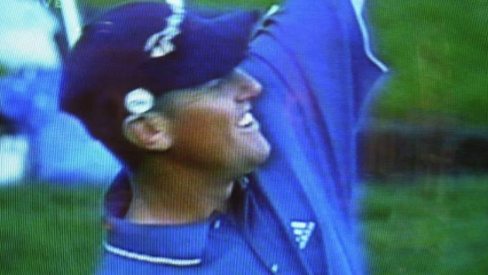 Craig Perks wins the 2002 Players Championship tournament in Ponte Vedra Beach Florida