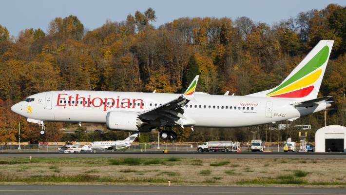 This Ethiopian Airlines jetliner crashed killing 157 people