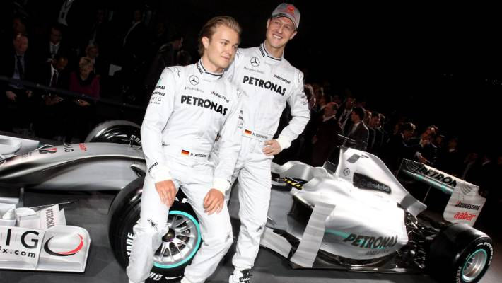 Michael Schumacher had the work ethic, Lewis Hamilton the talent