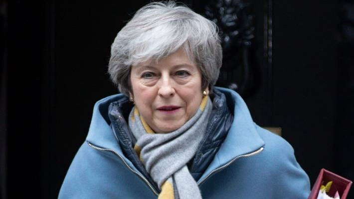 British Prime Minister Theresa May has struggled to shore up her authority.