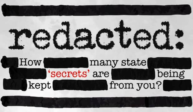 Redacted: Why you aren't getting the information you're entitled to.