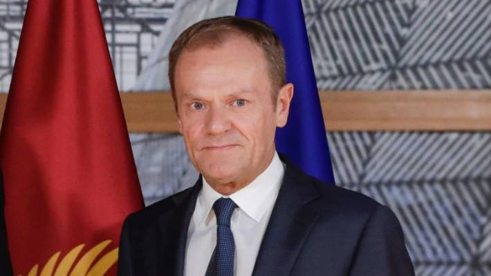 President of the European Council Donald Tusk raised the possibility of a long delay to allow Britain to change course.