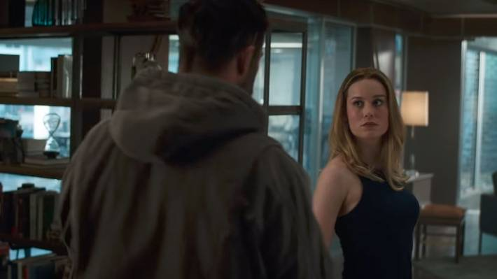 Brie Larson's Captain Marvel makes her first Avengers appearance just a week after her own film was released