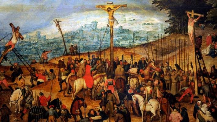 The Crucifixion or The Calvary 1617 by Pieter Brueghel the Younger