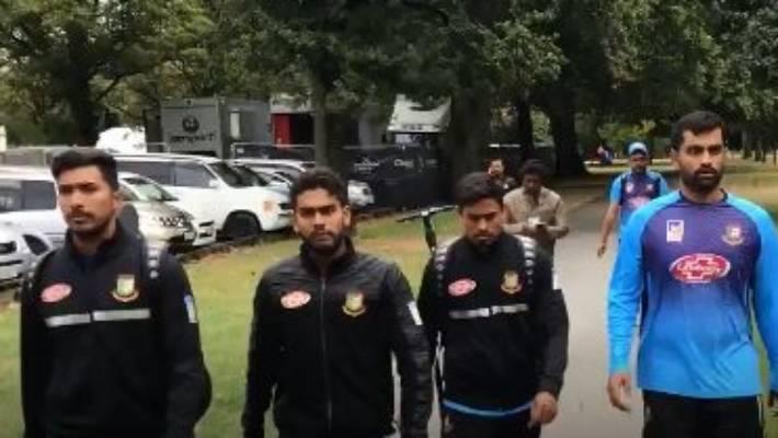 Bangladesh Cricket Team Escape Christchurch Mosque