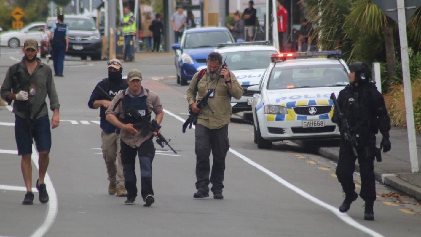 Shooting In Christchurch Picture: Christchurch Attacks: How Police And Citizens Responded