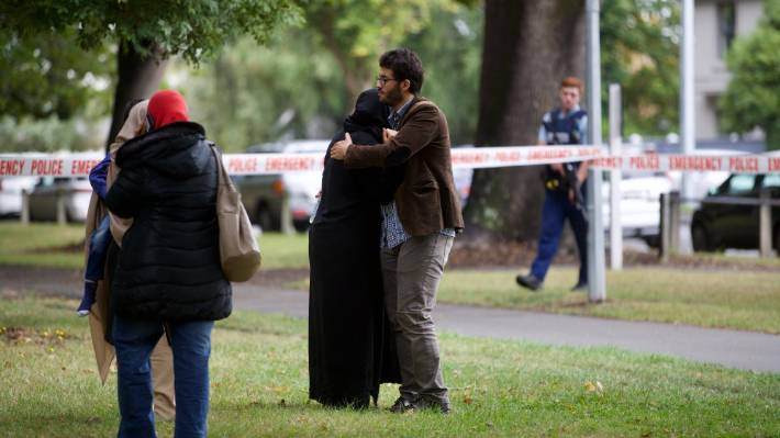 Christchurch mosque shooting: Witness says shots went off