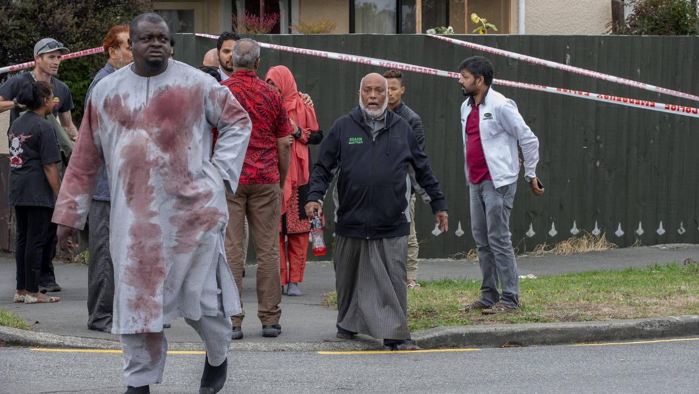 Christchurch Shooting Image: 'Our Brothers Have Been Shot': Christchurch Mosque