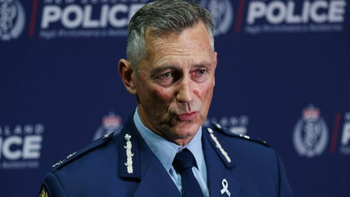 Police Commissioner Mike Bush praised the officers who made the arrest.