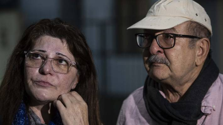 Janna Ezat and Hazim Al-Umari's son Hussain Al-Umari is missing following the Christchurch terrorist attack.