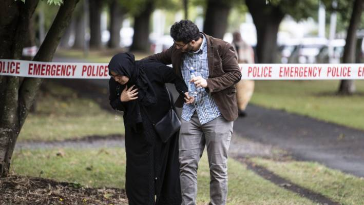 More than 100 Muslim worshippers were killed or injured during the attacks on two mosques in Christchurch in March.