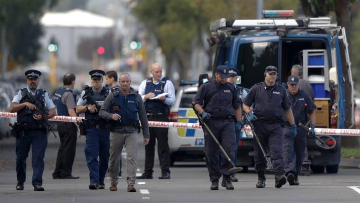 Shooting In Christchurch Picture: In Pictures: Gunmen Attack Christchurch Mosques