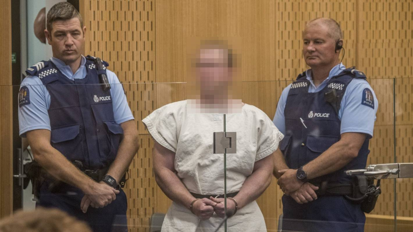 Christchurch Mosque Shooting Footage Emerges Of Alleged: Court Appearance For Alleged Christchurch Mosque Shooter