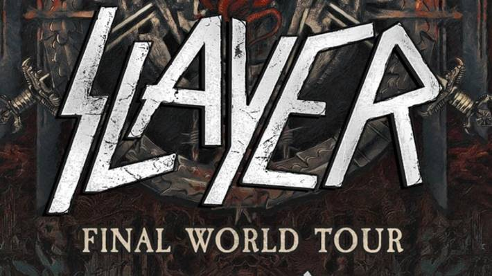 The Christchurch concert was to have been part of Slayer's final tour.