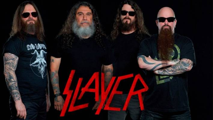 Slayer is booked to perform in Christchurch on Sunday.