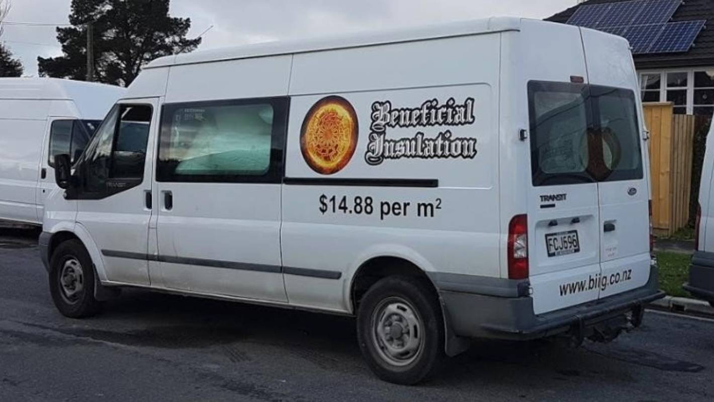 Nazi-themed company Beneficial Insulation reported to police after