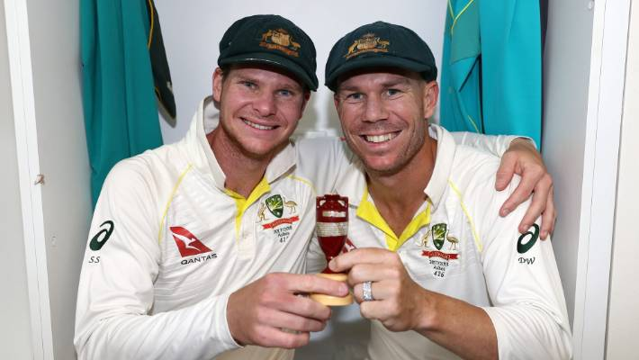 Aaron Finch outlines Smith, Warner vision