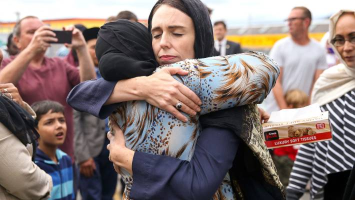 New Zealand remembers mosque attack victims