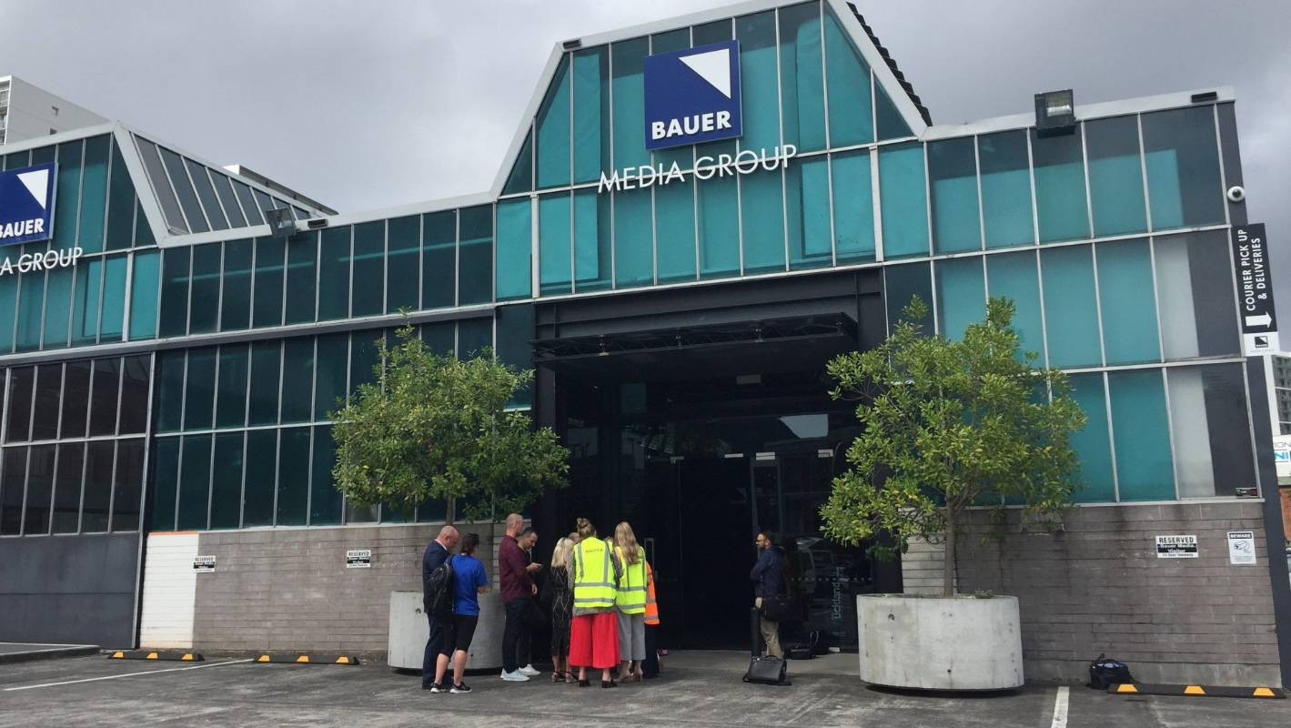 Bauer Media in central Auckland evacuated following bomb threat