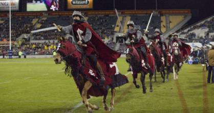 The Crusaders' horsemen have been a feature of the Super Rugby team's pre-match buildup for over 20 years.