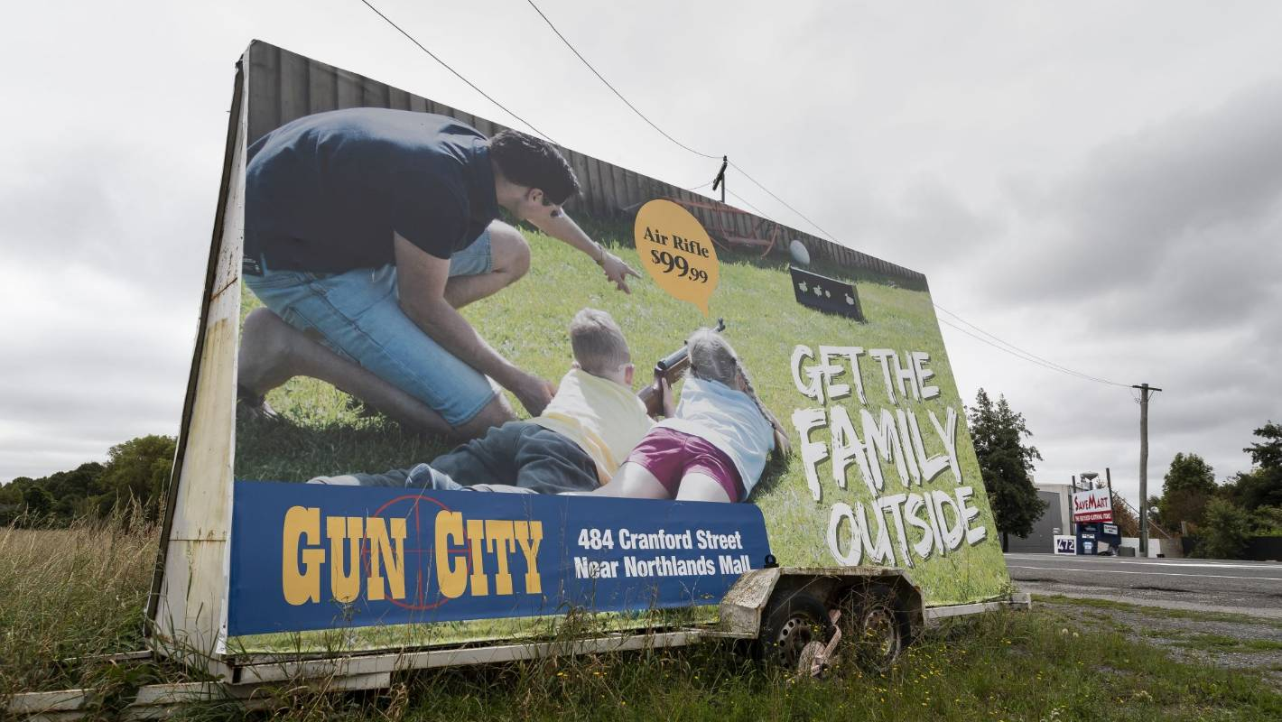 Gun adverts will no longer be accepted by Stuff
