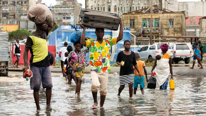 Cyclone hits southern Africa, kills 140