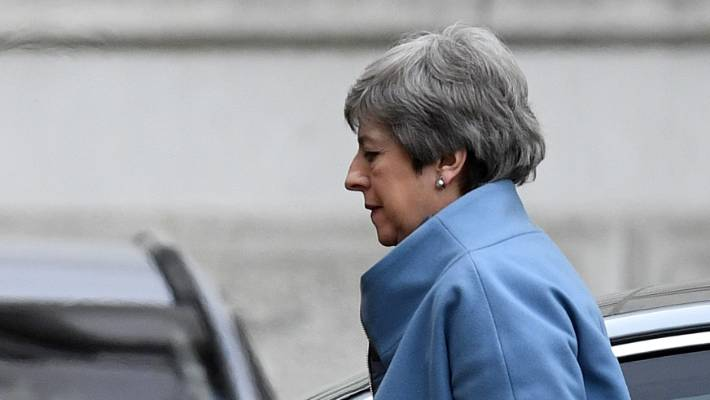 UK Prime Minister Theresa May had hoped she could persuade enough lawmakers to change their minds about her Brexit deal.
