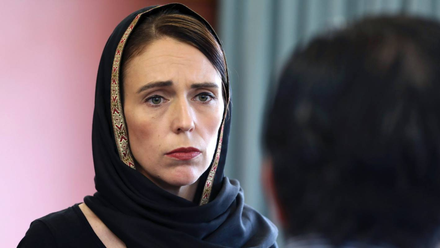 Image result for jacinda ardern hijab
