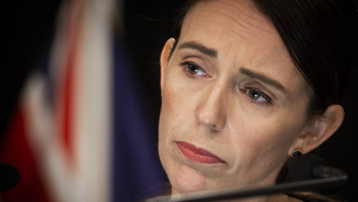 Joe Bennett writes that he'd like to have been Prime Minister Jacinda Ardern during her call from Donald Trump after last Friday's massacre. — Photograph: Rosa Woods.