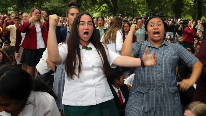 'Māori way of expressing love': Haka used to express grief after Christchurch attack