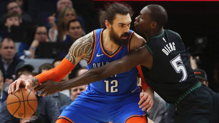 outlet store 5f85d 3568b Steven Adams recalls best game of career - and it wasn't in ...