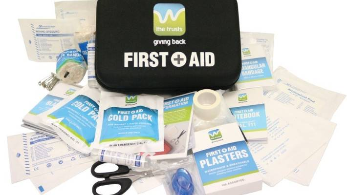 Tainted saline solution discovered in West Auckland free first aid kits