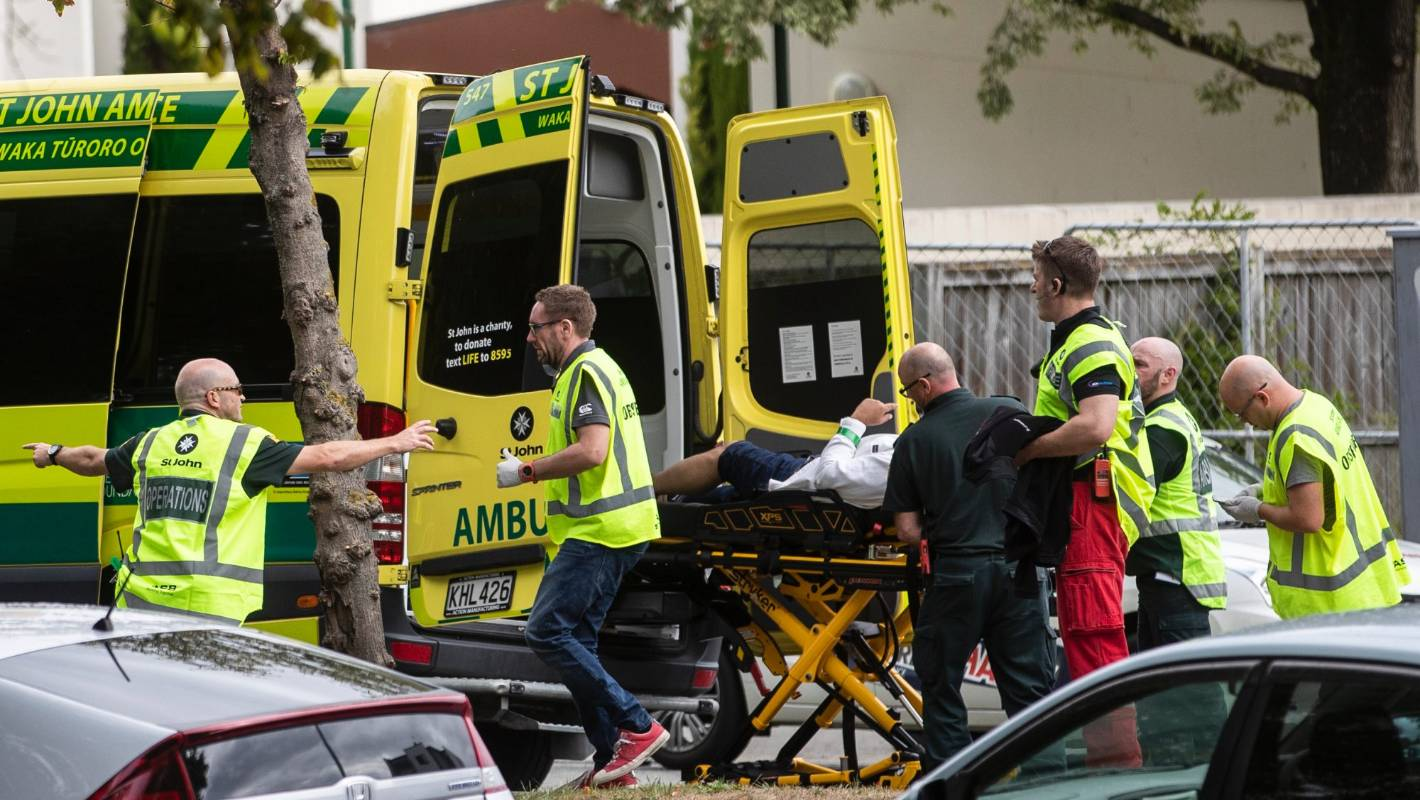 Christchurch Shooting Livestream Image: Fewer Than 200 People Watched Shooter's Christchurch