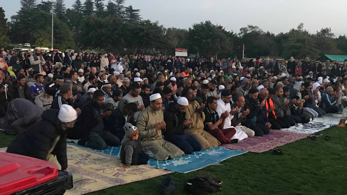 Christchurch Attack Photo: Thousands Gather In Māngere To Remember Victims Of